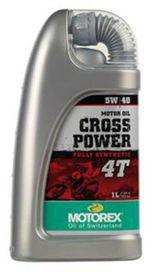 Cross power 4t 5w40 1l - MOTOREX
