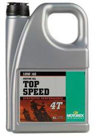 Top speed 4t 10w40 4l - MOTOREX