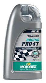 Huile motorex racing pro 4t 0w40 1l - MOTOREX