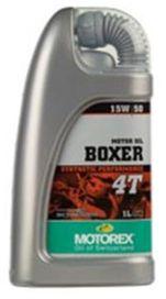 """Huile motorex """"boxer"""" 4t sae 5w40 en bidon de 4l - MOTOREX"""