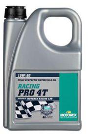 Racing pro 4t 15w50 4l - MOTOREX