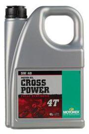 Cross power 4t 5w40 4l - MOTOREX