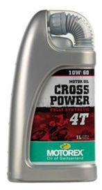 Cross power 4t 10w60 1l - MOTOREX