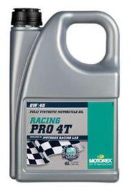 Huile motorex racing pro 4t 0w40 4l - MOTOREX
