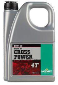 Cross power 4t 10w50 4l - MOTOREX