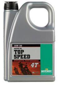 Top speed 4t 15w50 4l - MOTOREX