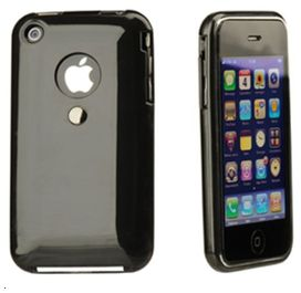 Coque tetrax xcase iphone 3g/3gs noir - tetrax