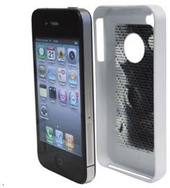 Coque tetrax xcase iphone 4g blanc - tetrax