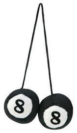 Boules 8 decoratives 5.5 cm diam. - race sport