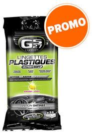 Lingettes plastiques satines citron/orange - GS27