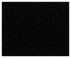 Moquette noir universel lisse  - RDI