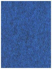 Moquette bleu lisse - RDI