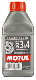Liquide de frein motul dot3 & dot4 - motul