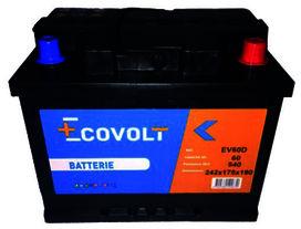 Batterie (60ah/540amp) - SOLIDPARTS