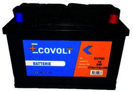 Batterie (72ah/660amp) - SOLIDPARTS