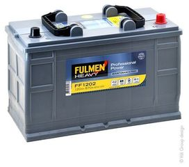 Batterie professionnel power (120ah/870amp) - fulmen
