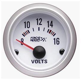 Voltmetre race sport diam. 52mm.12v. - race sport