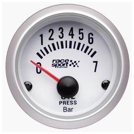 Manometre de pression d'huile race sport diam. 52mm.12v. - race sport