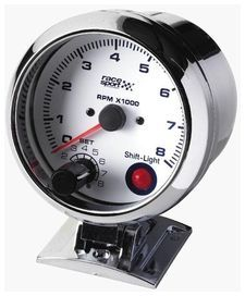 Compte tours essence shift light race sport diam. 90mm.12v. - race sport