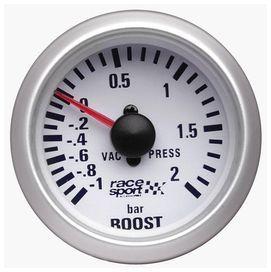 Manometre de pression de turbo race sport diam. 52mm.12v. - race sport