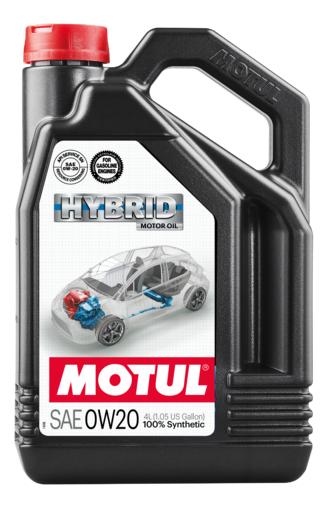 Huile motul hybrid 0w20 4l - motul
