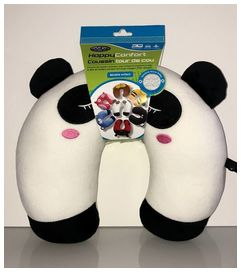 Happy confort tour de cou  panda microfibre doux - HAPPY CONFORT