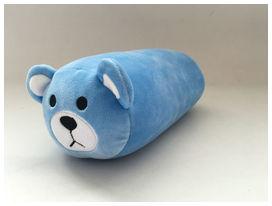 Happy confort doudou fourreau et coussin de ceinture enfant décoré bleu - HAPPY CONFORT