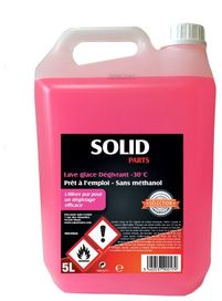 Solidparts lave glace antigel -30°c 5l sans méthanol - SOLIDPARTS