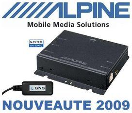 Boitier de navigation alpine nve-m300p - ALPINE