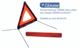 Triangle de signalisation - OBJECTIF PREVENTION