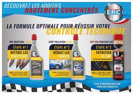 Erc pack contrôle technique moteur diesel 650 ml - ERC