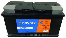 Batterie start&stop (60ah/680amp) - SOLIDPARTS