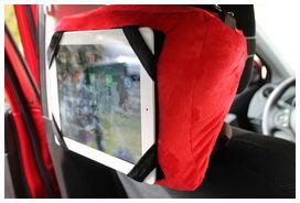 Happy confort sacoche de rangement et support  pour tablette numérique rouge - HAPPY CONFORT