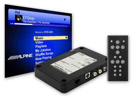 Accessoire alpine interface video avance pour ipod video - ALPINE