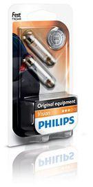 Ampoule t10,5x43 c10w vision - PHILIPS