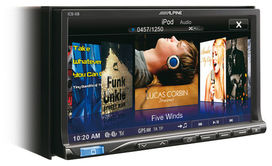 Autoradio video  alpine  icsx8    bluetooth mirror link - ALPINE