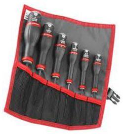 6 clés mâles emmanchées (trousse) - FACOM