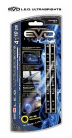 Bande led ultrabright bleu 10cm (2 pces) - EVOPERFORMANCE