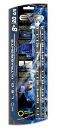 Bande led ultrabright bleu 20cm (2 pces) - EVOPERFORMANCE