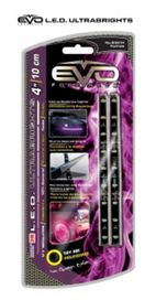 Bande led ultrabright violet 10cm (2 pces) - EVOPERFORMANCE