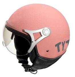Casque jet rose taille m