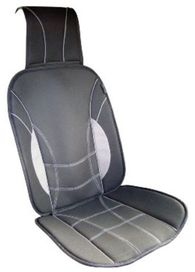Couvre siège sport, gris/noir - ERGOSEAT