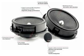 Kit haut parleurs is165vw focal 16.5cm. spécial vw seat skoda - FOCAL