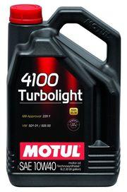 Huile 10w40 motul 4100 turbolight 5l - motul