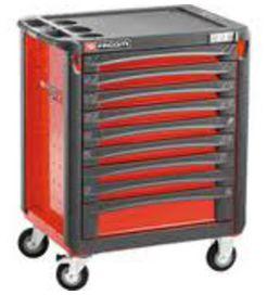 Servante xl 9 tiroirs rouge - FACOM