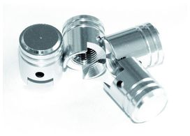 "Kit 4 capuchons de valves ""piston"" - BC CORONA"