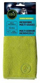 Lingette microfibre multi-usages vert - sinéo