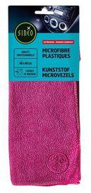 Lingette microfibre plastiques violète - sinéo