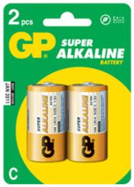 Lr14b blister de 2 piles alcaline 1.5v - GPBATTERIES