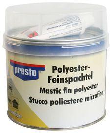 Mastic fin polyester durcisseur inclus - PRESTO